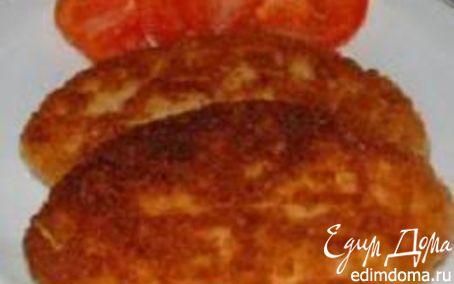Рецепт Картофельные котлеты с сыром