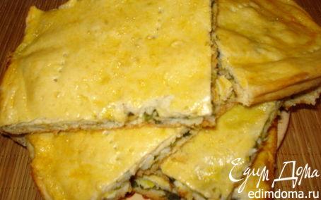 Рецепт Пирог с зеленым луком и яйцом