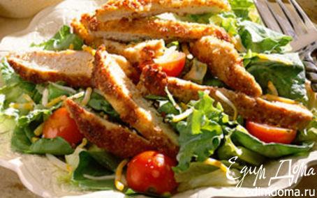 Рецепт Изысканный салат с горчичной заправкой