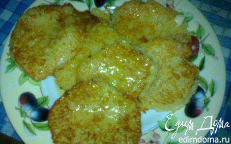 Рецепт Драники картофельные с сыром