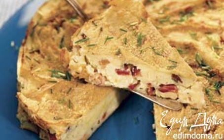 Рецепт Сицилийский картофельный пирог