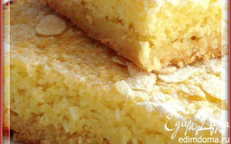 Рецепт Лимонно-кокосовый пирог