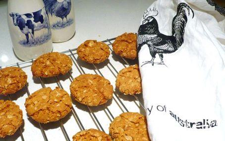 Рецепт ANZAC - героические печенья