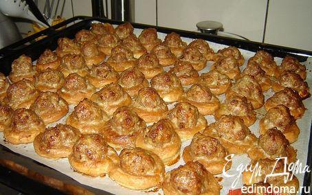Рецепт Крендельки с мясом