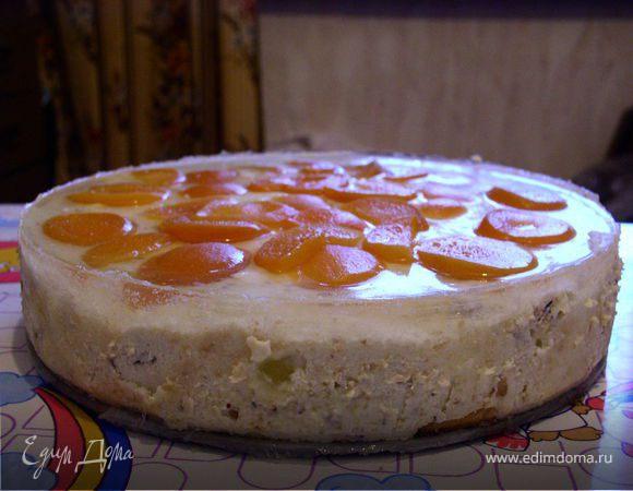 Творожный торт без выпекания