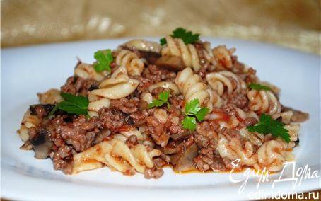 Рецепт Чили из говядины с макаронами