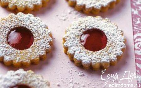 Рецепт Австрийское печенье Linzer Plätzchen