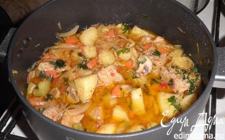 Рецепт Овощное рагу со свининой