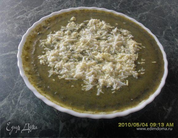 Суп-пюре из крапивы и сельдерея