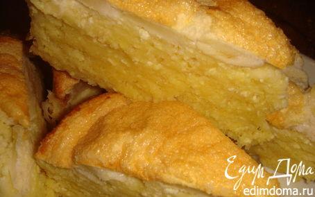 Рецепт Яблочно-творожный торт