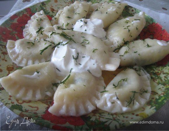 Пельмени с сыром
