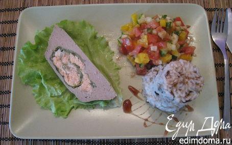 Рецепт Рыбное суфле (Из двух видов рыбы)