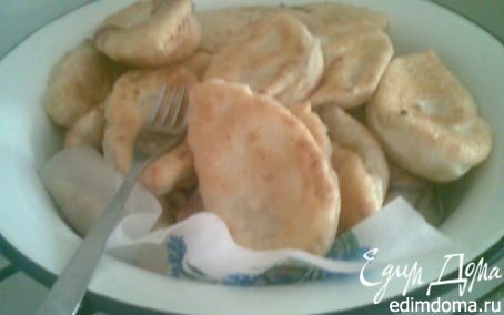 Рецепт Домашние пирожки с картофелем
