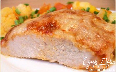 Рецепт Свинина в сырной корочке
