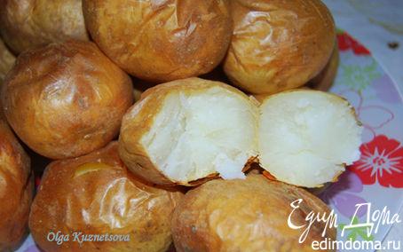 Рецепт Картошечка печеная в мундире