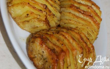 Рецепт Гармошки из картошки , с розмарином