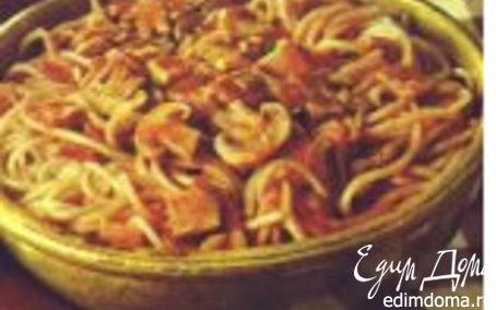 Рецепт Спагетти по-милански