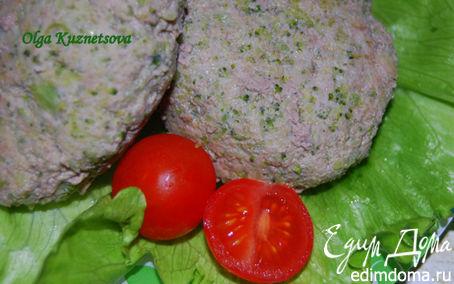 Рецепт Котлеты с капустой брокколи