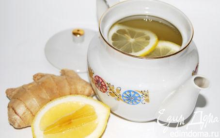 Рецепт Имбирный тодди с лимоном