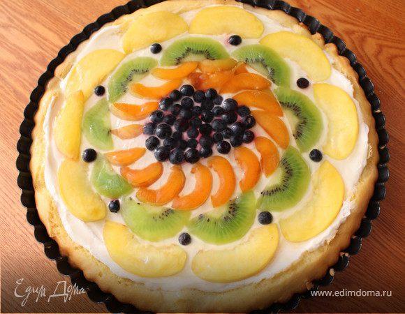 Фруктовый торт_