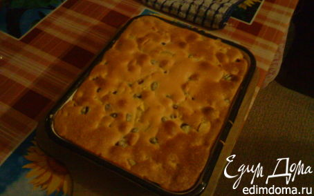 Рецепт Шарлотка с яблоками и смородиной