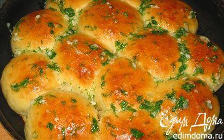Рецепт Пампушки с чесночком