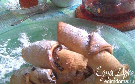 Рецепт Печенье из сметанного теста с начинкой из кураги и чернослива