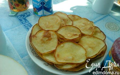 Рецепт Оладушки с яблоками