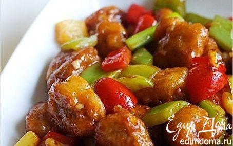 Рецепт Свинина в кисло-сладком соусе по-китайски
