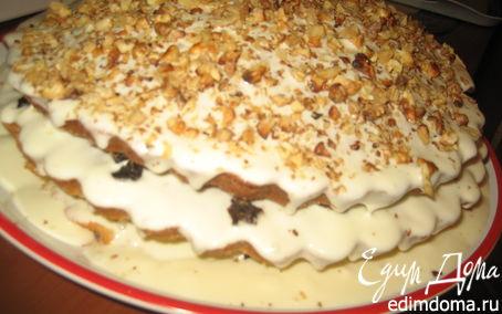 Рецепт Сметанный бабушкин пирог