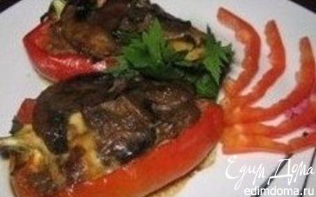 Рецепт Перец с брынзой
