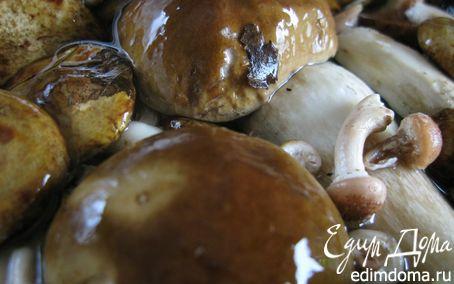 Рецепт Пенне с грибами