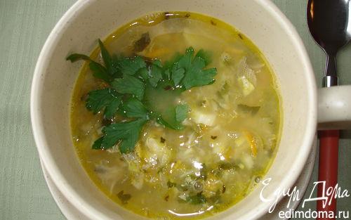 Рецепт Андалузский рыбный суп
