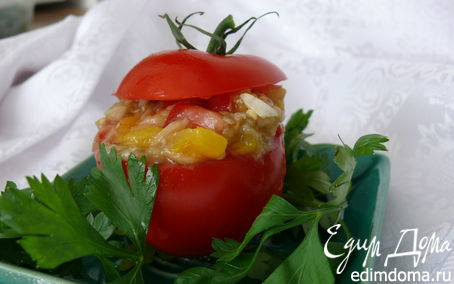 Рецепт Закуска из запеченного баклажана