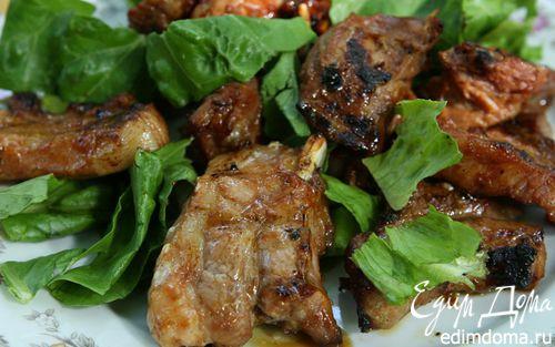 Рецепт Свиные ребрышки на гриле