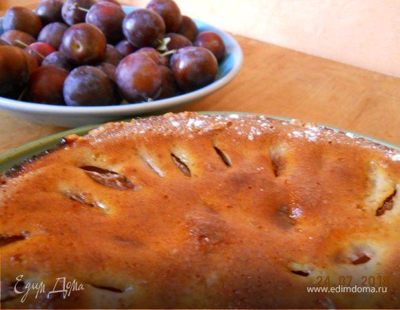 Тирольский сливовый пирог