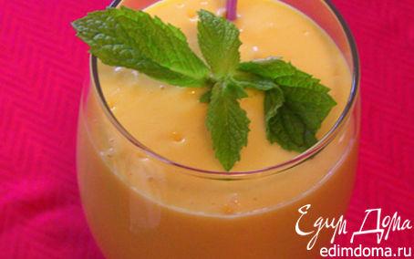 Рецепт Йогурт взбитый со сливками и мятой в йогуртнице