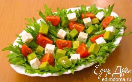 Рецепт Пестрый салат