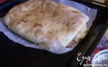 Рецепт Пирог с картошкой и брынзой