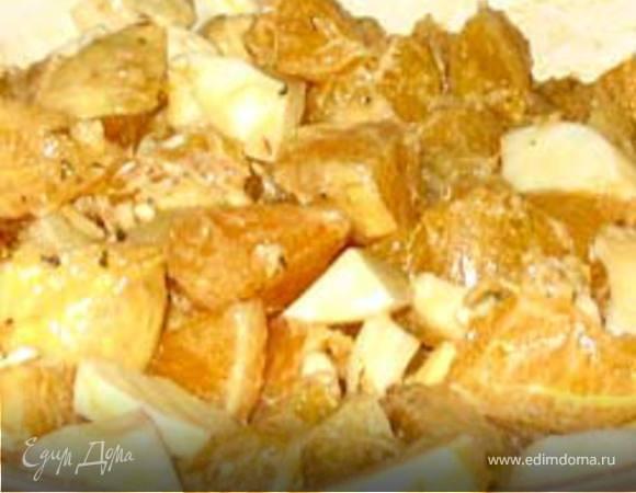 Салат из апельсинов по-сицилийски