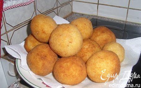 Рецепт Рисовые шарики фаршированные