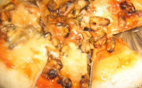 Рецепт Пицца с мидиями