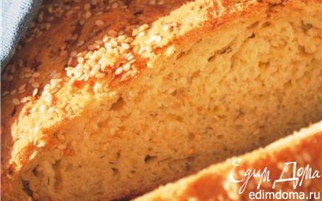 Рецепт Хлеб с кабачками, луком и укропом