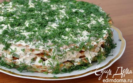 Рецепт Кабачковый тортик