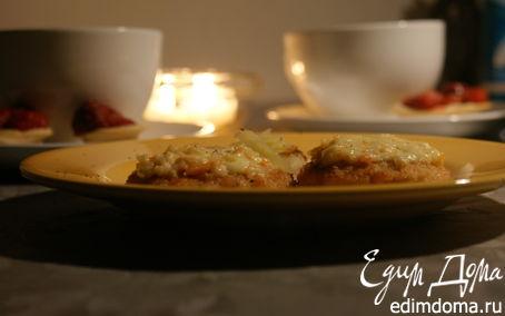 Рецепт Куриные котлетки с крабовым муссом
