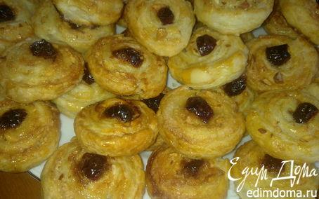 Рецепт Быстрое печенье из слоеного теста