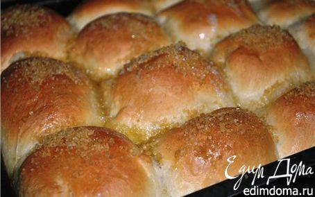 Рецепт Булочки с начинкой, запечённые в сливках (Rohrnudeln)