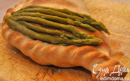 Рецепт Кальцоне с грибами и моцареллой (Calzone Funghi e Mozzarella)