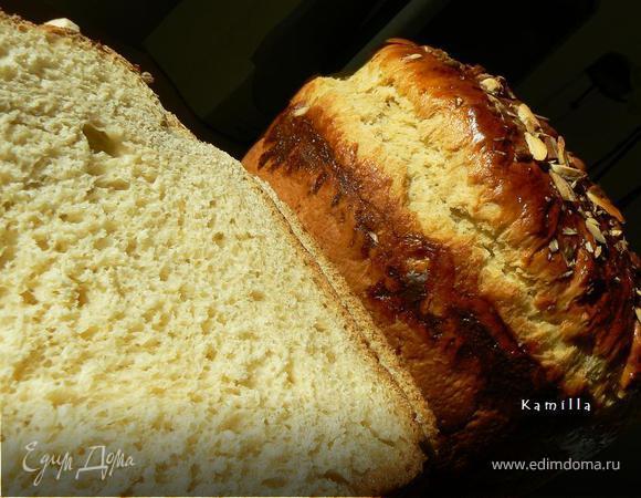 Сладкий хлеб с апельсином и кардамоном