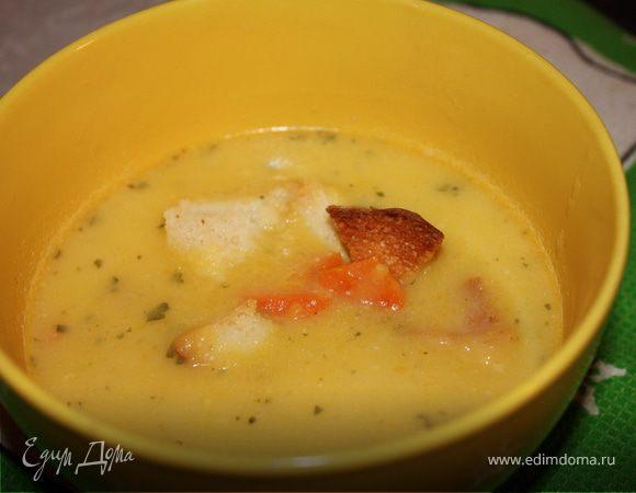 Суп из тыквы с мятой
